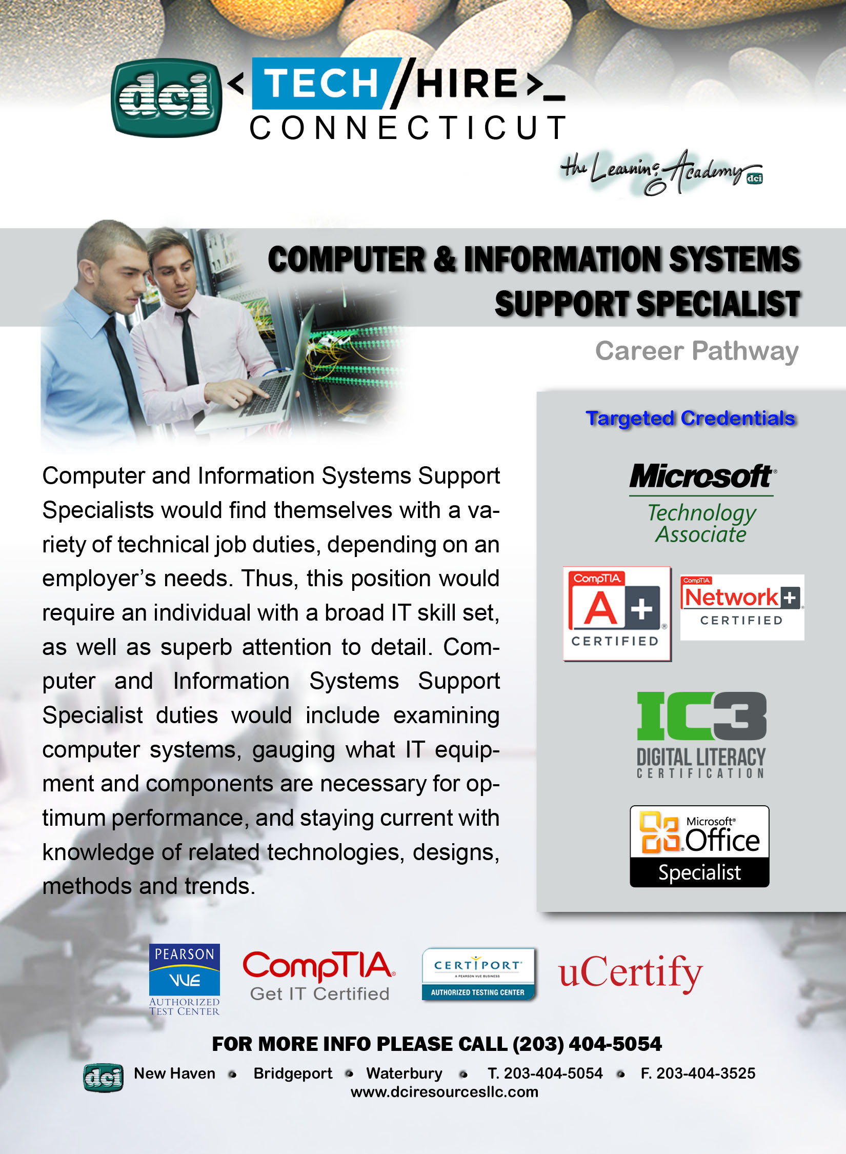 Computer & Information Systems Support Specialist